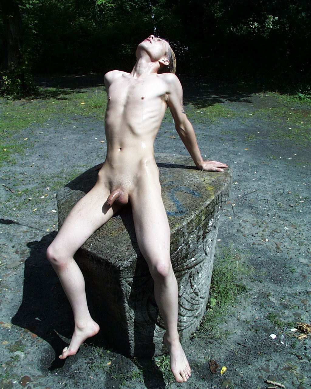 Nudist outdoors male gay sex photos in this