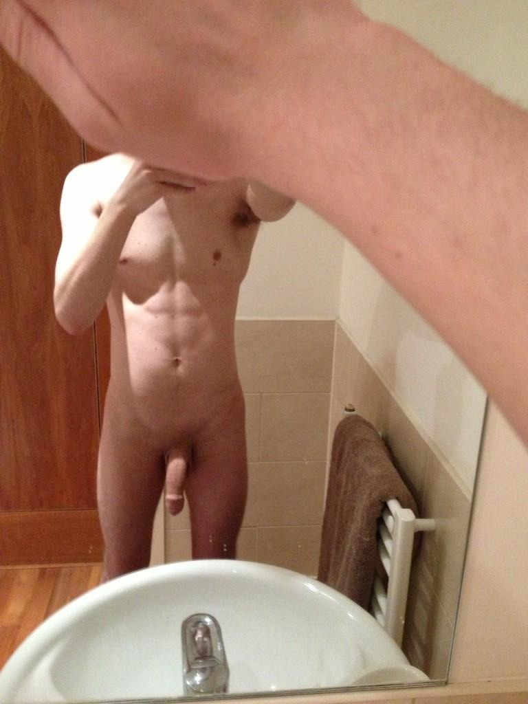 Nude Boy With Soft Cock
