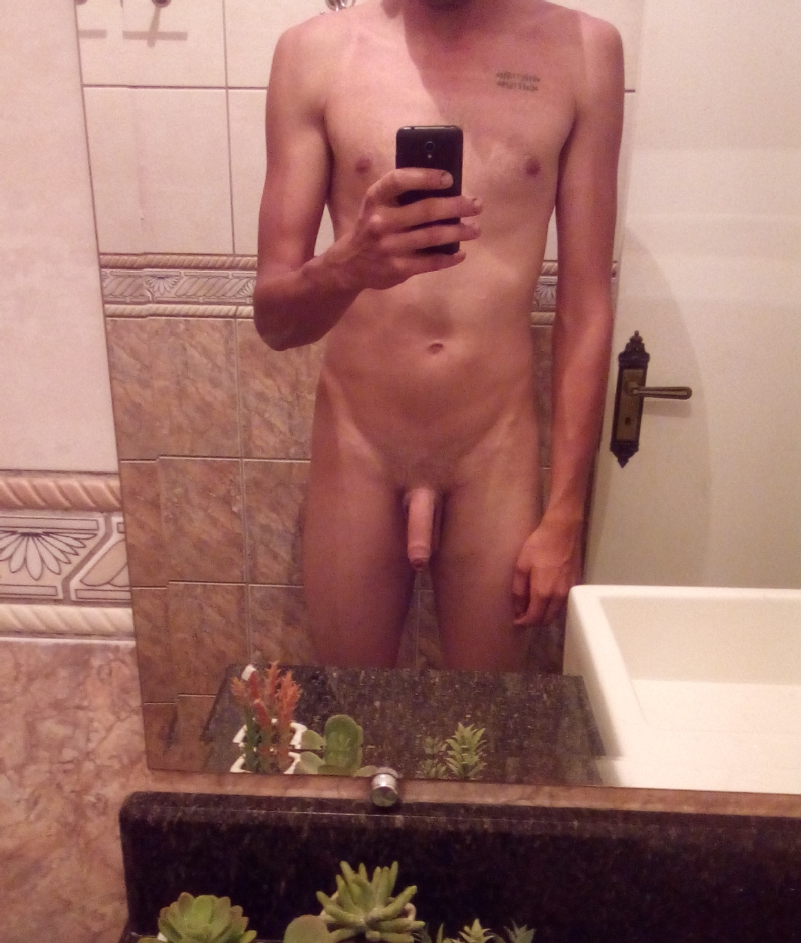 Boy With A Good Looking Soft Uncut Cock